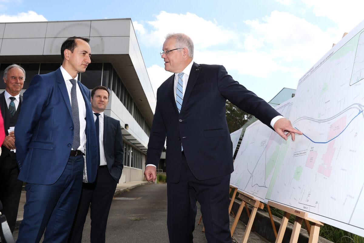 Prime Minister Scott Morrison Infrastructure Announcement