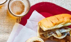 Two-Step Beer Brat Sliders With Mustard
