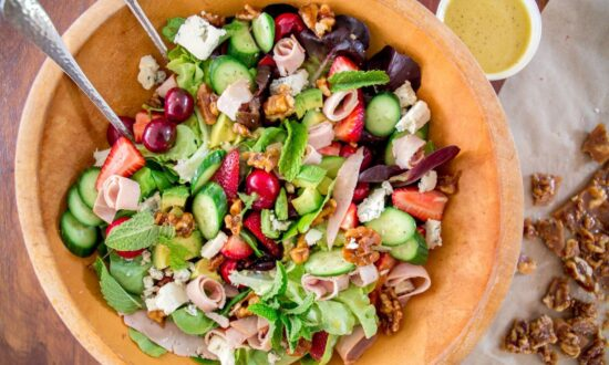 A Sweet, Salty, Entrée-Worthy Summer Salad