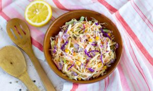 Coleslaw With Tequila-Lime Dressing