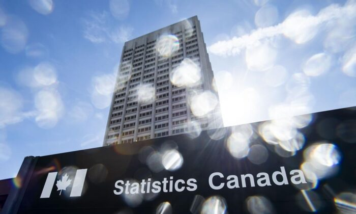 Statistics Canada reported an 11.6 percent drop in April's gross domestic product on June 30, 2020. (The Canadian Press)