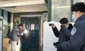 A Beijing Apartment Building is Welded Shut After A Resident Was Found Infected With the CCP Virus