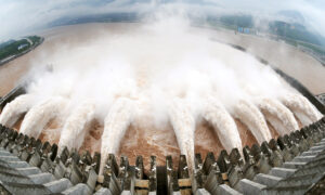 City Downstream of Three Gorges Dam is Completely Inundated