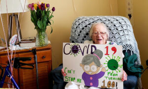 Indiana Woman Celebrates 100th Birthday With Family After Beating COVID-19