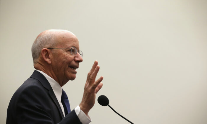 Rep. Peter DeFazio (D-Ore.) at Rayburn House Office Building on Capitol Hill in Washington on May 14, 2015. (Alex Wong/Getty Images)