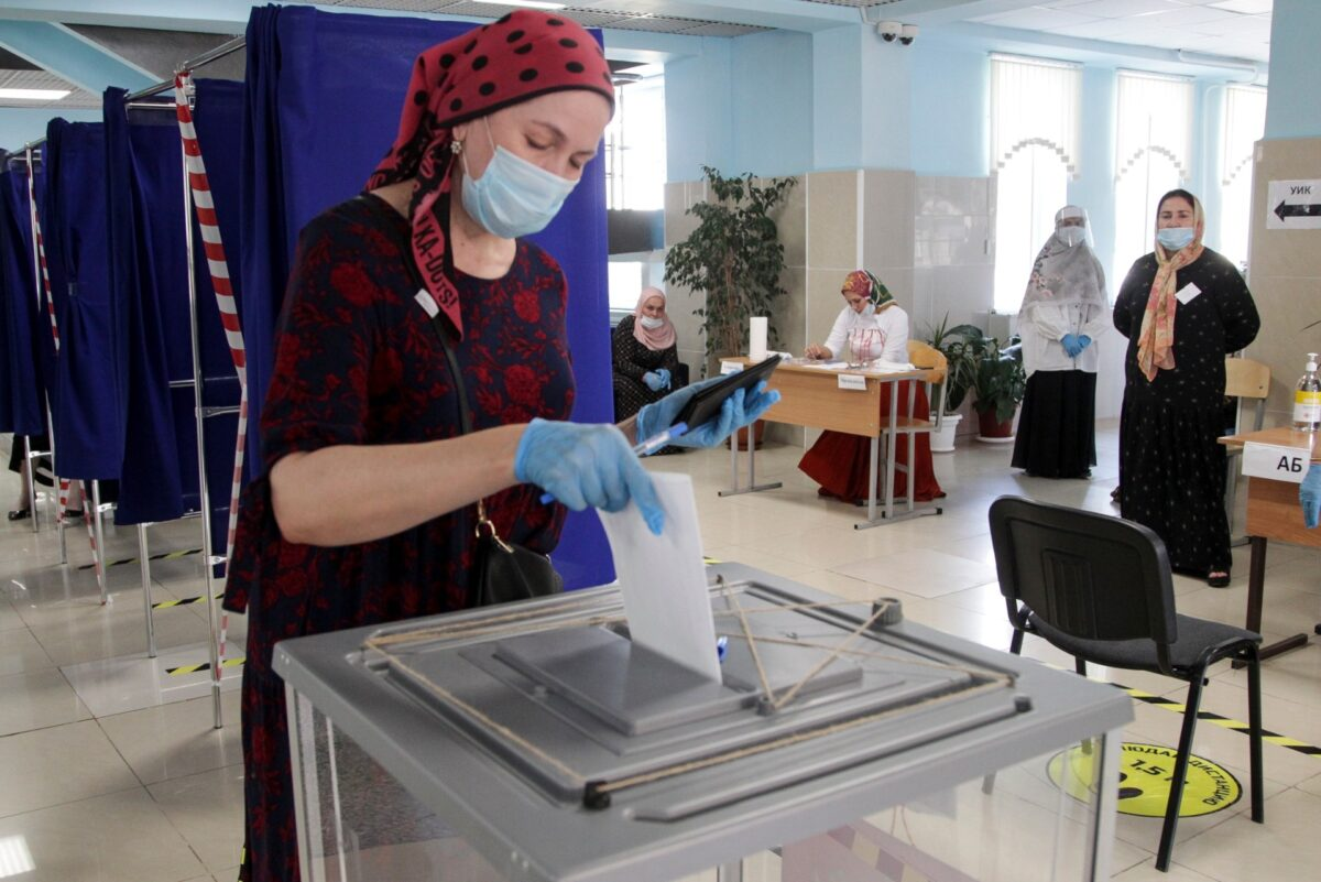 Russian voters back Putin's constitutional reforms