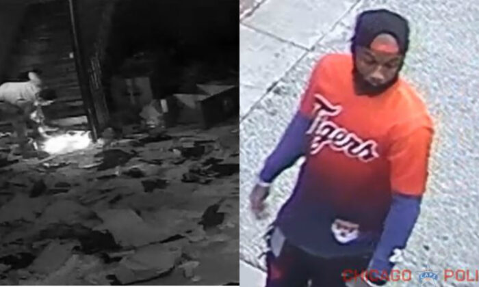 Suspects in two arsons set in Chicago from May 30 to June 3, 2020. (Chicago Police Department)