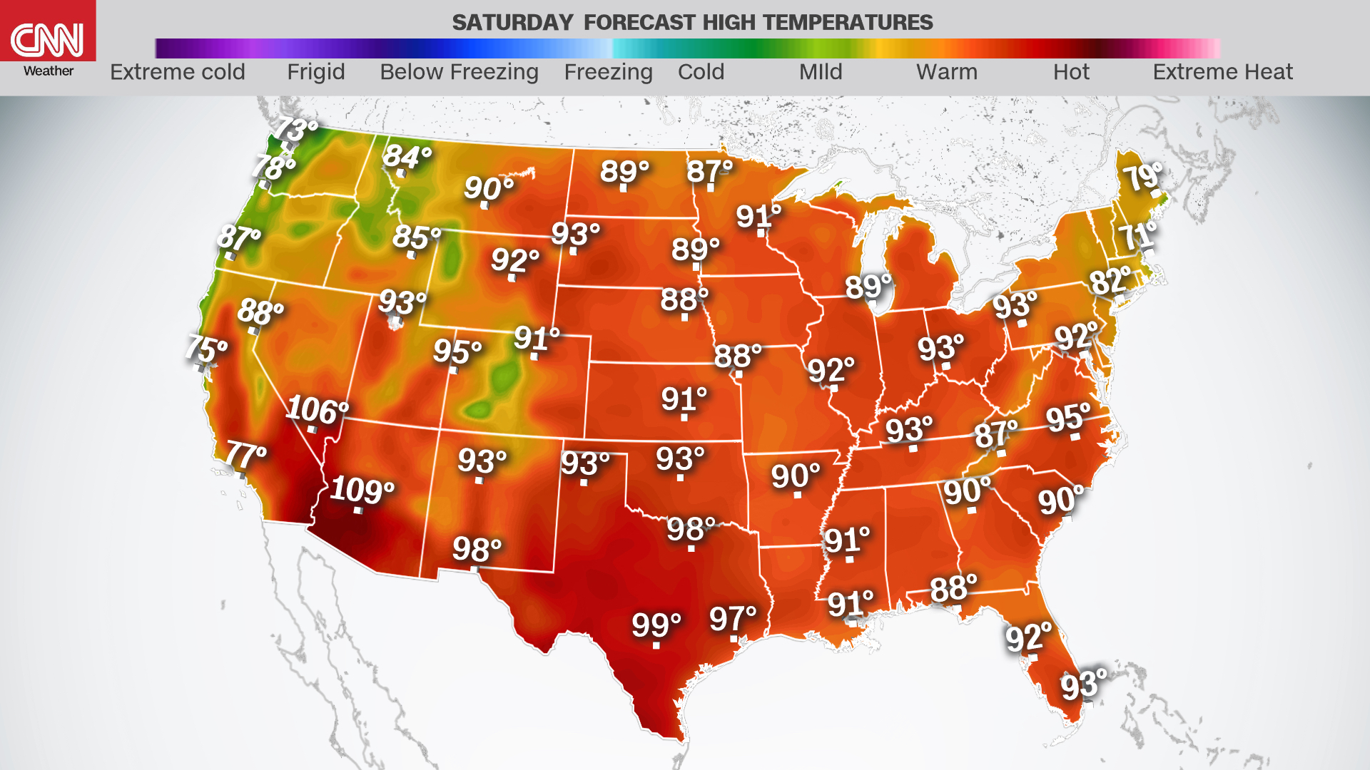 intense heat this Fourth of July