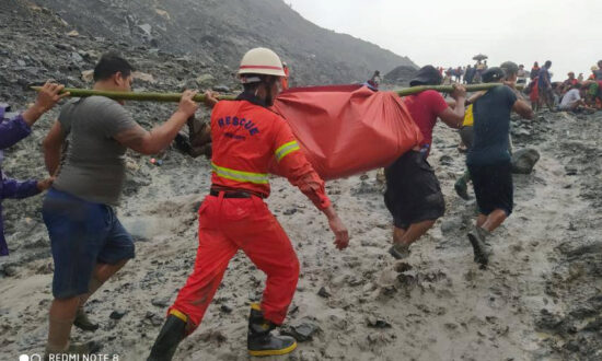 Landslide in Burma's Border Region With China Kills at Least 100