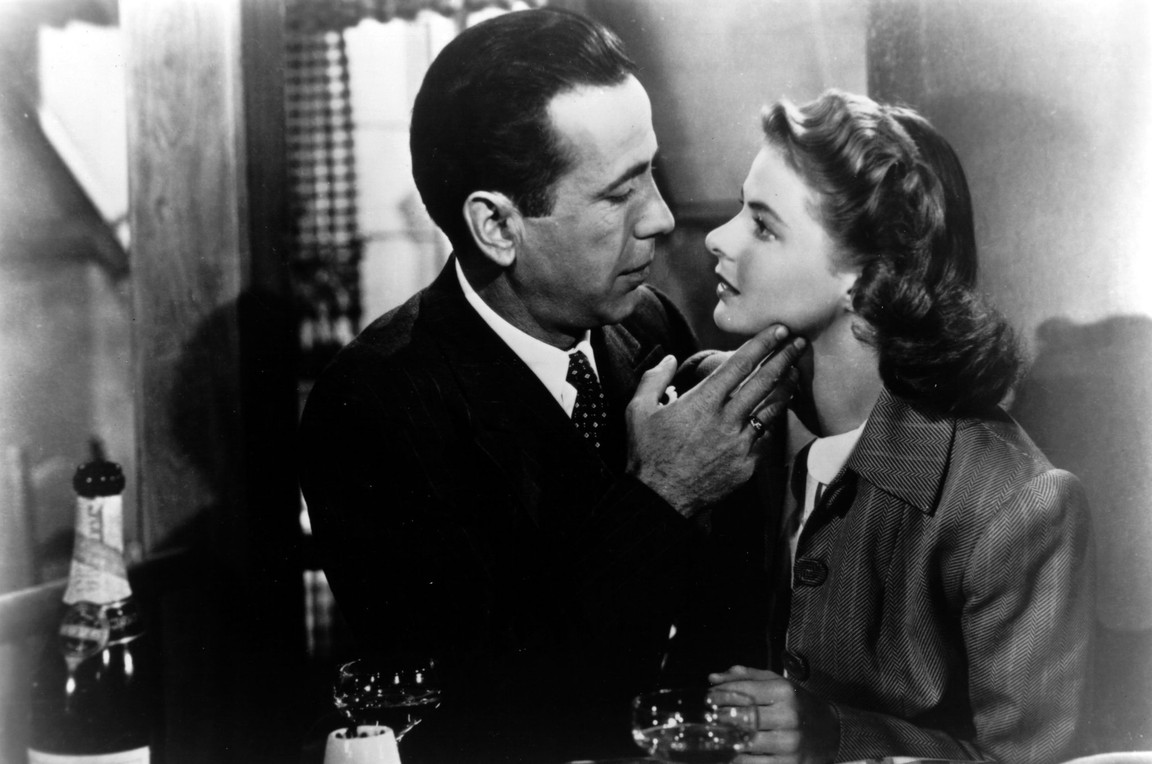 """man and woman in """"Casablanca"""""""