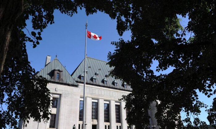 The Supreme Court of Canada is shown in Ottawa in this file photo.(The Canadian Press/Sean Kilpatrick)