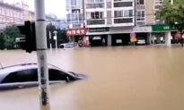 Wuhan Submerged in Water as Floods Hit Downstream Yangtze River