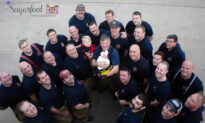 Late Firefighter's Newborn Pays Tribute to Her Dad in a Moving Photoshoot With 26 Firemen