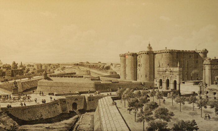 The Bastille of Paris before the French Revolution. (Public Domain)