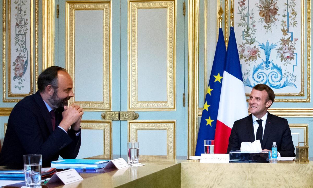 Emmanuel Macron Edouard Philippe