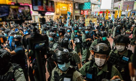 HK Police Arrest 300+ Protesters Marching Against the New Security Law