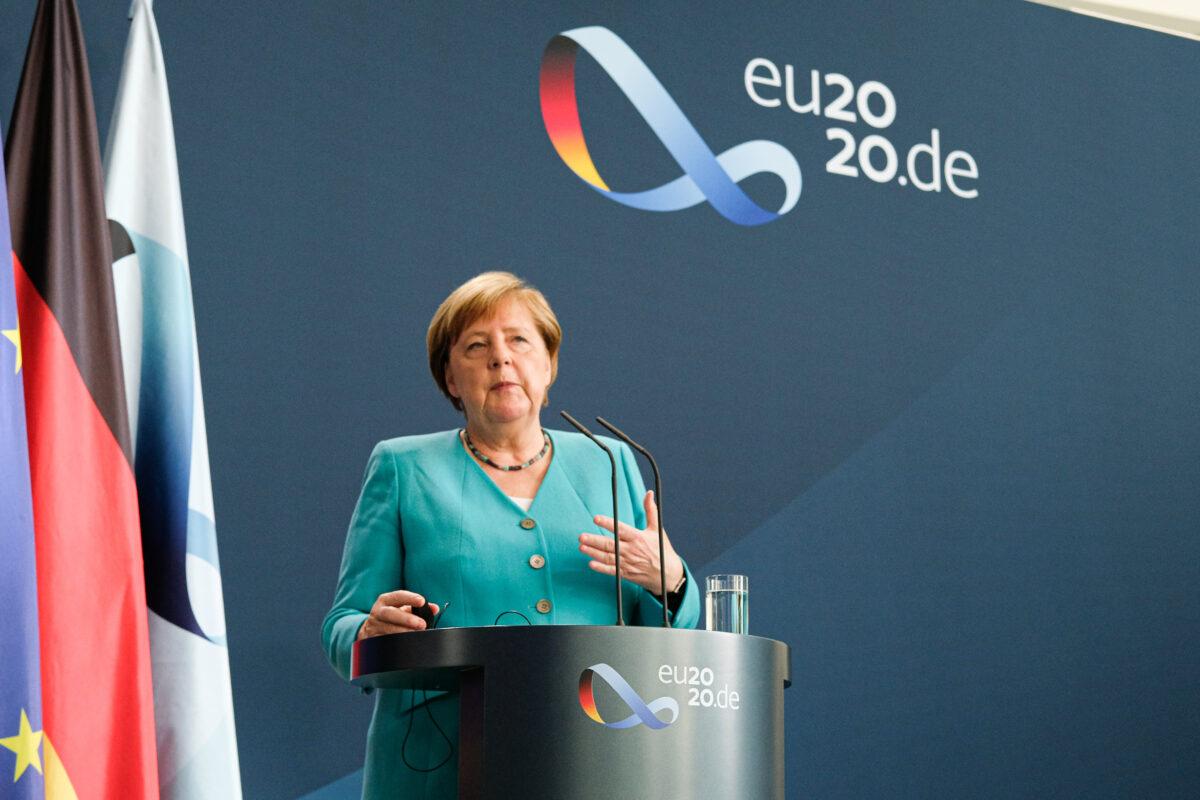 EU Seeks Dialogue on Hong Kong as Germany...