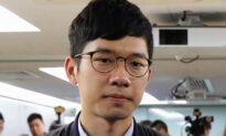 Hong Kong Activist Nathan Law Arrives in London