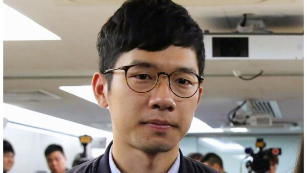 Hong Kong activist Nathan Law,