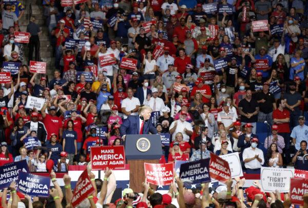 Trump Rally Tulsa