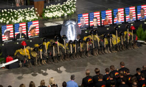 Arizona Governor Honors 19 Fallen Firefighters Who Died in Yarnell Hill Wildfire