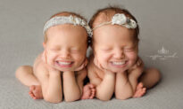 Photographer Edits Full Toothy Grins Onto Professional Baby Photos With Hilarious Results