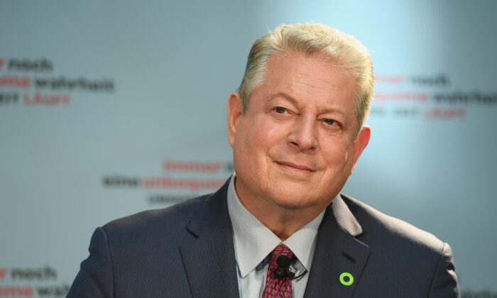 Former Vice President Al Gore in Berlin, Germany, on Aug. 8, 2017. (Matthias Nareyek/Getty Images for Paramount Pictures)