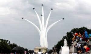 July 4th Military Flyovers to Go Over DC, 4 Other Cities