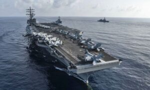 US Sends Carriers to South China Sea During Chinese Drills