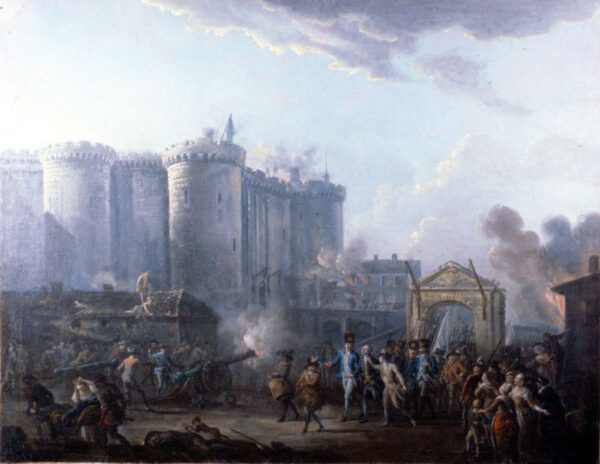 Arrest of the Governor of the Bastelle-1790