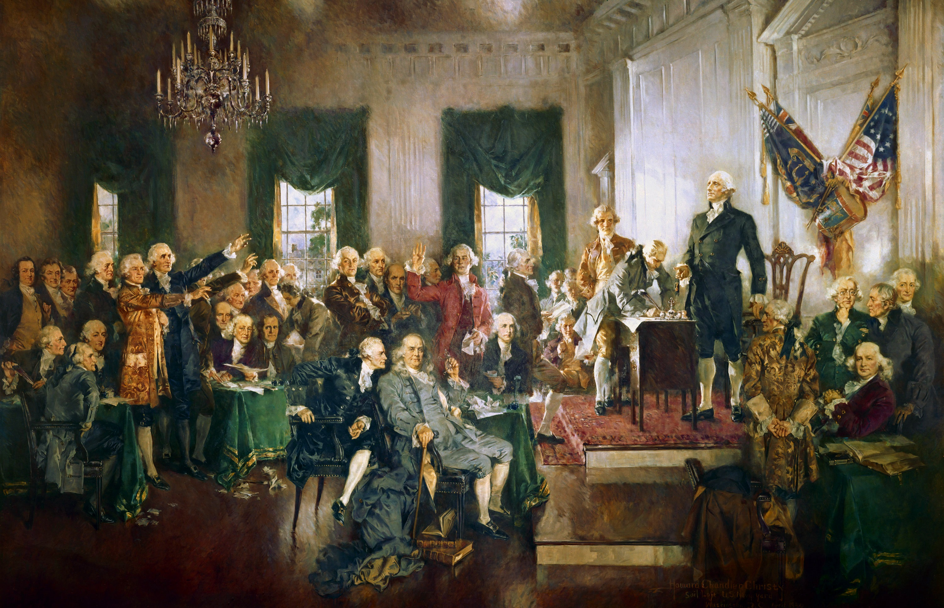 Scene_at_the_Signing_of_the_Constitution_of_the_United_States by Christy