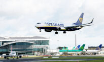 Ryanair Traffic Fell 70 Percent to 4.4 Million in July