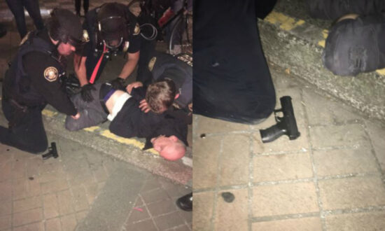 Officer Injured From Mortar Explosion During Riot in Portland
