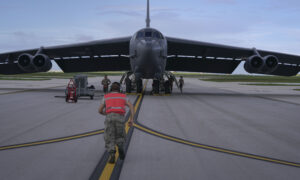 B-52 Bomber From Louisiana Joins Naval Exercises in South China Sea