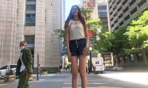 Woman With 52.8-Inch Legs Loves to Wear High Heels, Shorts: 'I Love My Long Legs'