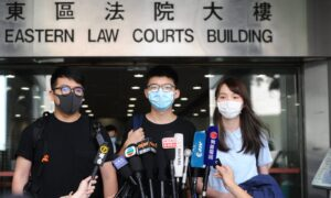 Joshua Wong Refuses to Plead Guilty and Urges Others to Not Be Silenced