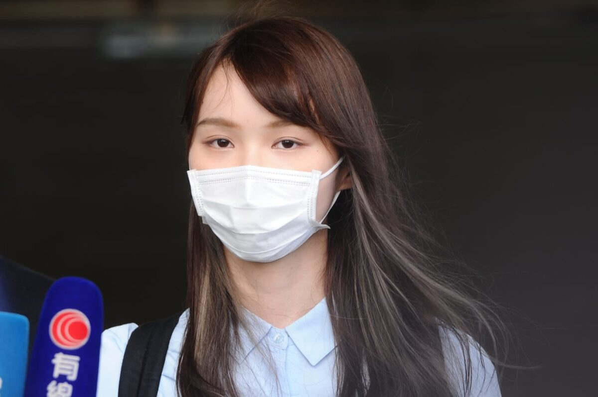 Hong Kong Activist Agnes Chow Pleads Guilty to...