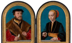 Reuniting a Northern Renaissance Couple After Nearly 125 Years