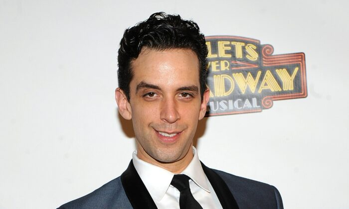 "Actor Nick Cordero attends the after-party for the opening night of ""Bullets Over Broadway"" in New York on April 10, 2014. (Brad Barket/Invision/AP)"