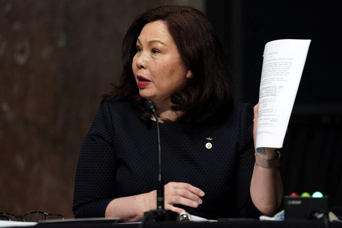 Sen. Duckworth: Open to Listening on Removal Washington Statues