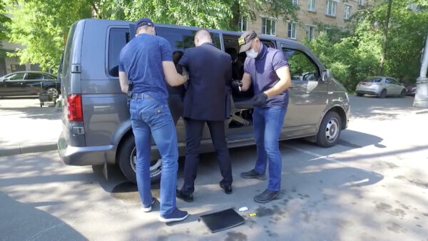 Ivan Safronov detained by RFSB Moscow