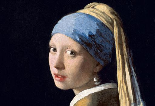 "Detail from the ""Girl with a Pearl Earring,"" circa 1665, by Johannes Vermeer. Royal Picture Gallery Mauritshuis, The Hague. (Public Domain)"