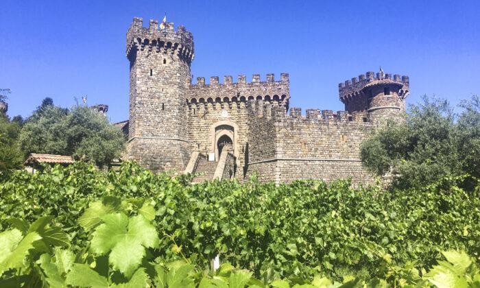 Castello di Amorosa. (Ilene Eng/The Epoch Times)