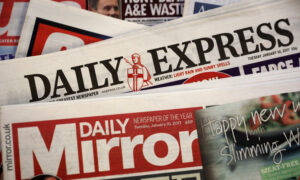 UK's Daily Mirror Publisher Reach to Cut 550 Jobs