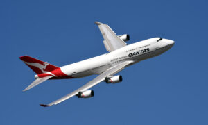 Qantas Turns 100 With Harbour Flight