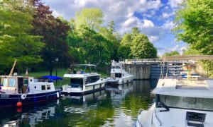 Houseboating Down Canada's Historic Rideau Canal