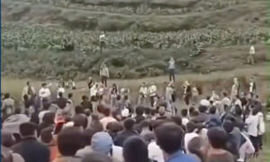 Thousands Flock to Mountain in Southwest China to Hear Mysterious Sound