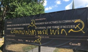 Vandalism of Memorial to Victims of Communism Site in Ottawa Draws Condemnation