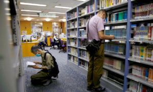 Hong Kong Libraries Pull Pro-Democracy Books for Review Under Beijing's Security Law