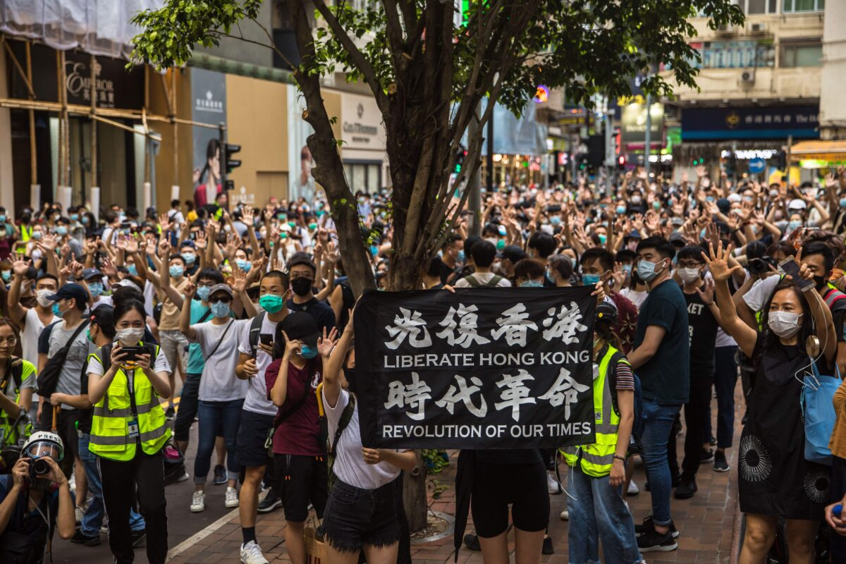Hong Kong Authorities Ban Popular Protest Song in...